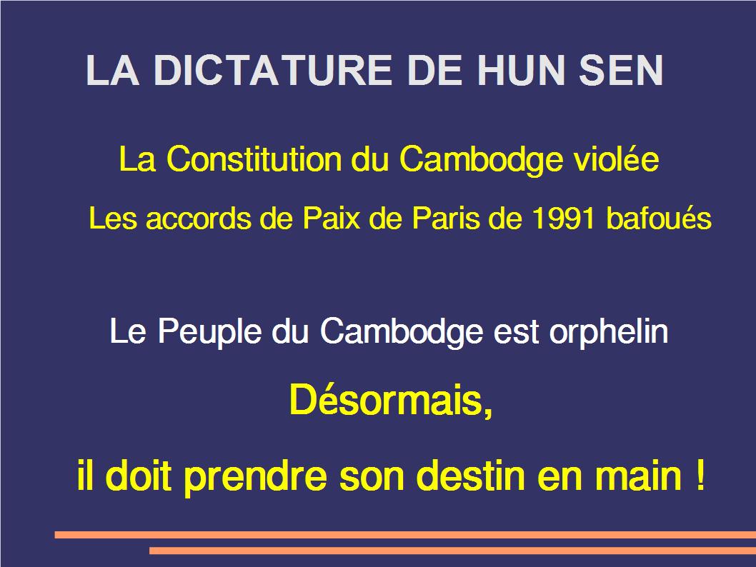 dictature de hun sen